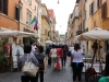 Street is Borgo Pio in Rome.