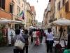 Street is Borgo Pio in Rome.