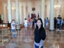 Inside the White House.