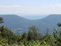 Saddle mountain, West Virginia.