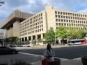 FBI building.