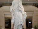 The Statue of Freedom. The figure on top, the crown, of the Capitol building.