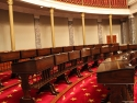 Old US Senate chamber.