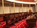 Old US Senate chamber.