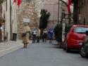 Walking toward St. Francis' Basilica. Franciscan?