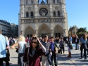 The Notre Dame, Paris.