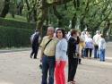 Alameda park, Santiago De Compostella, Spain.